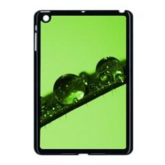 Green Drops Apple Ipad Mini Case (black) by Siebenhuehner