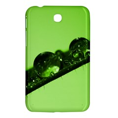 Green Drops Samsung Galaxy Tab 3 (7 ) P3200 Hardshell Case  by Siebenhuehner