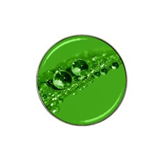 Green Drops Golf Ball Marker 4 Pack (for Hat Clip) by Siebenhuehner