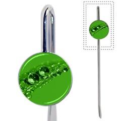 Green Drops Bookmark by Siebenhuehner
