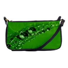Green Drops Evening Bag by Siebenhuehner