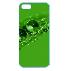 Green Drops Apple Seamless Iphone 5 Case (color) by Siebenhuehner