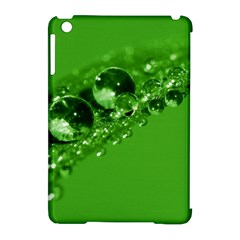 Green Drops Apple Ipad Mini Hardshell Case (compatible With Smart Cover) by Siebenhuehner