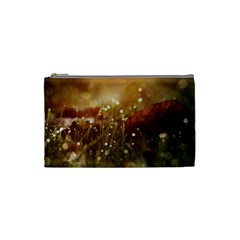 Waterdrops Cosmetic Bag (small) by Siebenhuehner