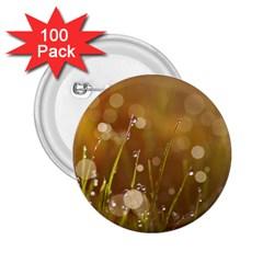 Waterdrops 2 25  Button (100 Pack) by Siebenhuehner