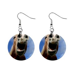 Haflinger  Mini Button Earrings by Siebenhuehner