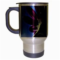 Daisy Travel Mug (silver Gray) by Siebenhuehner