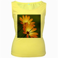 Osterspermum Womens  Tank Top (yellow) by Siebenhuehner