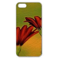 Osterspermum Apple Seamless Iphone 5 Case (clear) by Siebenhuehner
