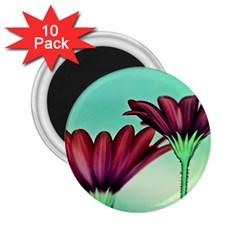Osterspermum 2 25  Button Magnet (10 Pack) by Siebenhuehner