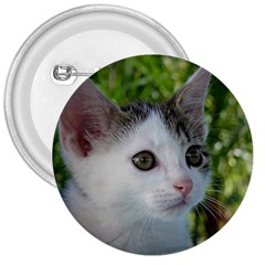 Young Cat 3  Button by Siebenhuehner