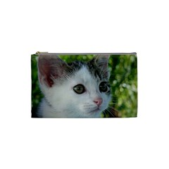 Young Cat Cosmetic Bag (Small) by Siebenhuehner