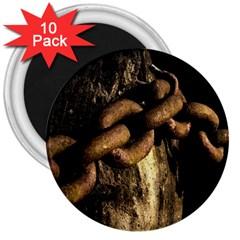 Chain 3  Button Magnet (10 Pack) by Siebenhuehner