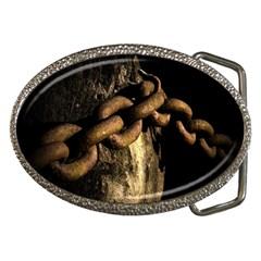 Chain Belt Buckle (oval) by Siebenhuehner