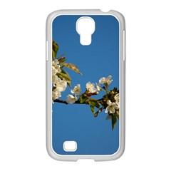 Cherry Blossom Samsung Galaxy S4 I9500/ I9505 Case (white) by Siebenhuehner