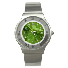 Drops Stainless Steel Watch (unisex) by Siebenhuehner