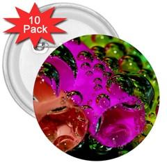Tubules 3  Button (10 Pack) by Siebenhuehner