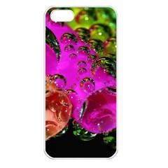 Tubules Apple Iphone 5 Seamless Case (white) by Siebenhuehner