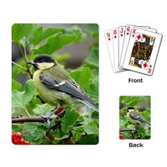 Songbird Playing Cards Single Design by Siebenhuehner