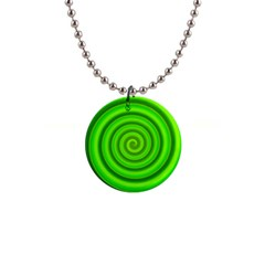 Modern Art Button Necklace by Siebenhuehner