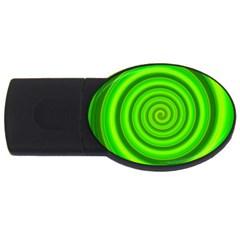 Modern Art 4gb Usb Flash Drive (oval) by Siebenhuehner