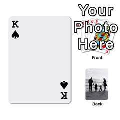 King Family Cards By Jack Fleming   Playing Cards 54 Designs   Mhpw3l5lwr48   Www Artscow Com Front - SpadeK