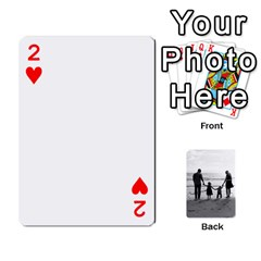Family Cards By Jack Fleming   Playing Cards 54 Designs   Mhpw3l5lwr48   Www Artscow Com Front - Heart2
