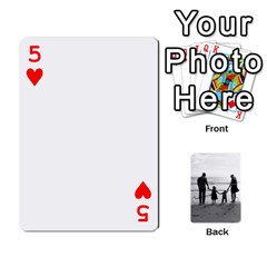 Family Cards By Jack Fleming   Playing Cards 54 Designs   Mhpw3l5lwr48   Www Artscow Com Front - Heart5