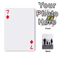Family Cards By Jack Fleming   Playing Cards 54 Designs   Mhpw3l5lwr48   Www Artscow Com Front - Diamond7