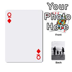 Queen Family Cards By Jack Fleming   Playing Cards 54 Designs   Mhpw3l5lwr48   Www Artscow Com Front - DiamondQ