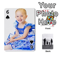 Family Cards By Jack Fleming   Playing Cards 54 Designs   Mhpw3l5lwr48   Www Artscow Com Front - Spade6