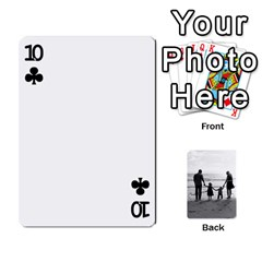 Family Cards By Jack Fleming   Playing Cards 54 Designs   Mhpw3l5lwr48   Www Artscow Com Front - Club10