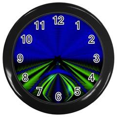 Magic Balls Wall Clock (black) by Siebenhuehner