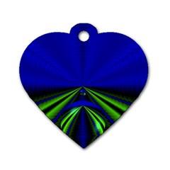 Magic Balls Dog Tag Heart (one Sided)  by Siebenhuehner