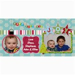 Christmas Card 2013 - 4  x 8  Photo Cards
