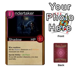 Jack Shadow Hunters Original Characters Plus Extras By Matt Stone   Playing Cards 54 Designs   77g1dlj1a9af   Www Artscow Com Front - HeartJ