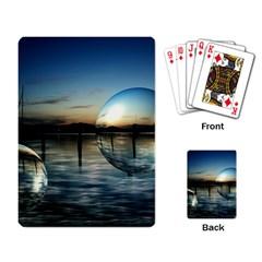 Magic Balls Playing Cards Single Design by Siebenhuehner