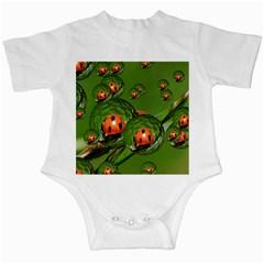 Ladybird Infant Bodysuit by Siebenhuehner