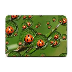 Ladybird Small Door Mat by Siebenhuehner