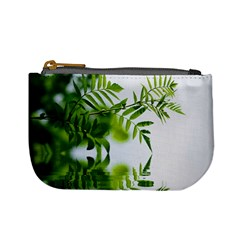 Leafs With Waterreflection Coin Change Purse by Siebenhuehner