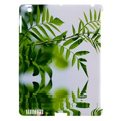 Leafs With Waterreflection Apple Ipad 3/4 Hardshell Case (compatible With Smart Cover) by Siebenhuehner
