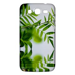 Leafs With Waterreflection Samsung Galaxy Mega 5 8 I9152 Hardshell Case  by Siebenhuehner