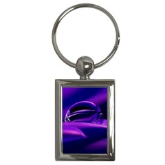 Waterdrop Key Chain (rectangle) by Siebenhuehner