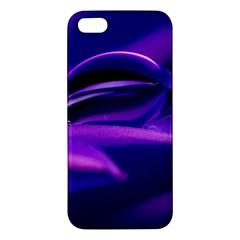 Waterdrop Iphone 5 Premium Hardshell Case by Siebenhuehner