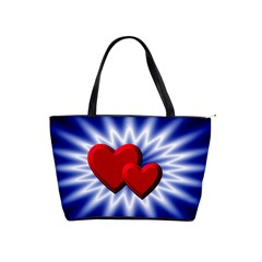 Love Large Shoulder Bag by Siebenhuehner
