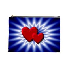 Love Cosmetic Bag (Large) by Siebenhuehner