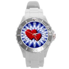 Love Plastic Sport Watch (large) by Siebenhuehner