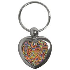 Modern  Key Chain (heart) by Siebenhuehner