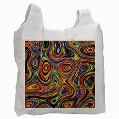 Modern  Recycle Bag (one Side) by Siebenhuehner