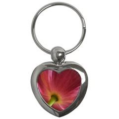 Poppy Key Chain (heart) by Siebenhuehner